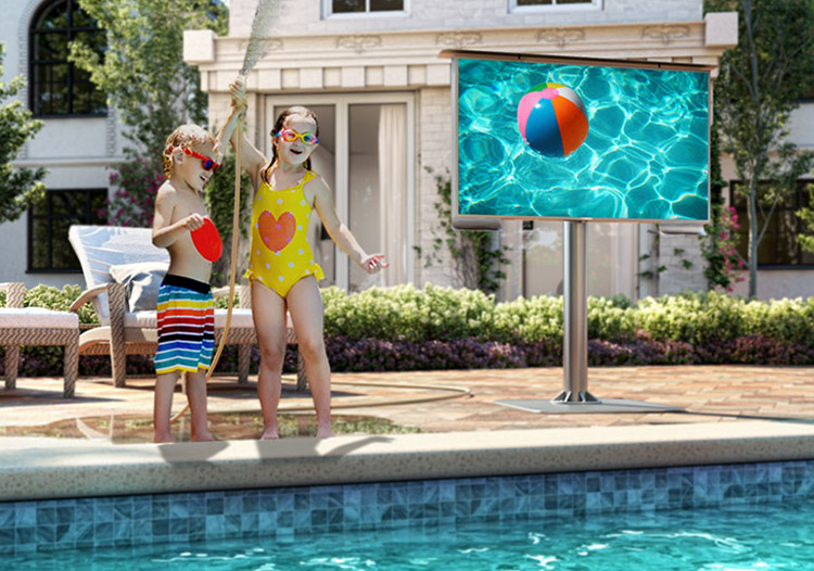 Safest Outdoor TV on the market.